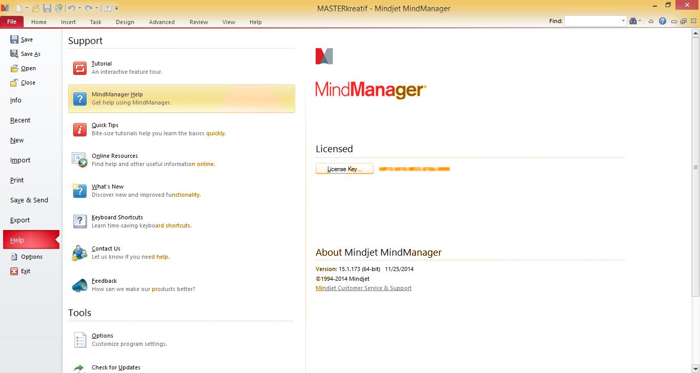 KM Tools MindManager Version 4