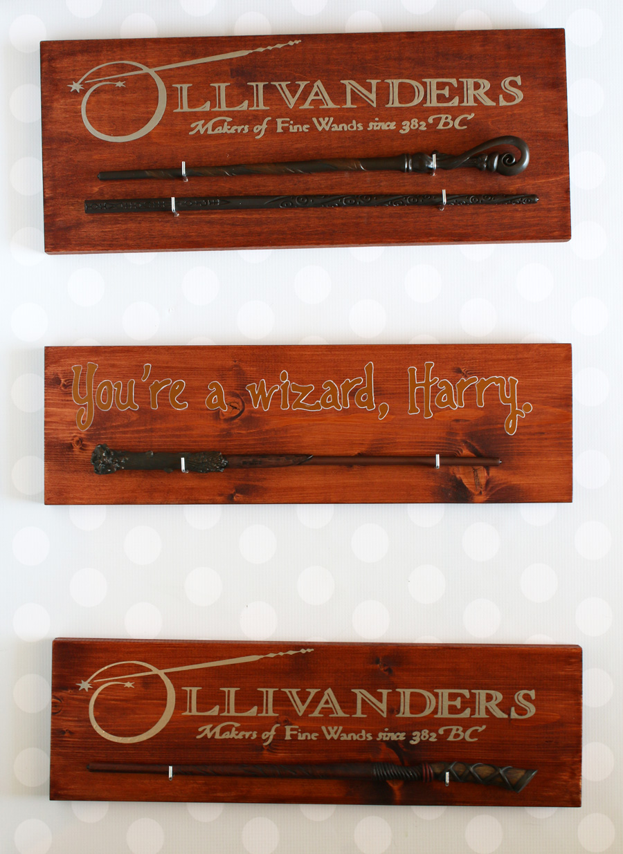 Taylor Stamped: Wand Holder