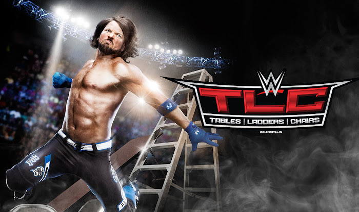 Complete details about WWE's TLC: Tables, Ladders & Chairs 2016 PPV Date, Time and Live/Repeat Telecast Schedule for India & Indian Subcontinent (Afghanistan, Bhutan, Bangladesh, India, Maldives, Nepal, Pakistan, Sri Lanka, and Tibet) WWE TLC: Tables, Ladders & Chairs 2016 Complete Result, Wallpaper, Poster, Music Theme Song Download.