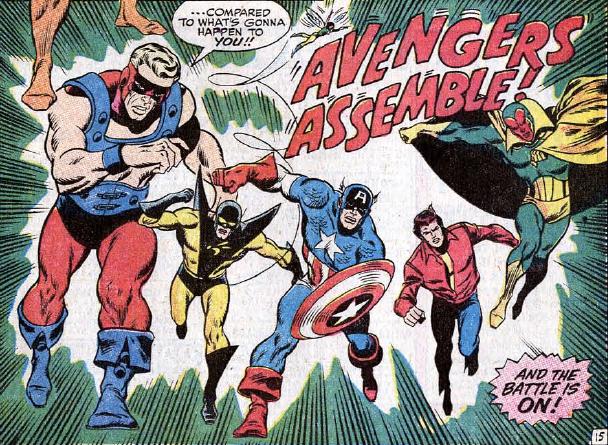 Section 244: Space-Born Super Hero Part 23: Avengers #72