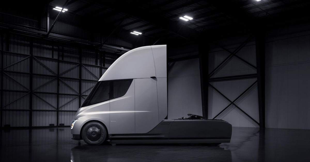 A Tesla Semi Prototype Spotted in California is Swift, Sleek, and Silent