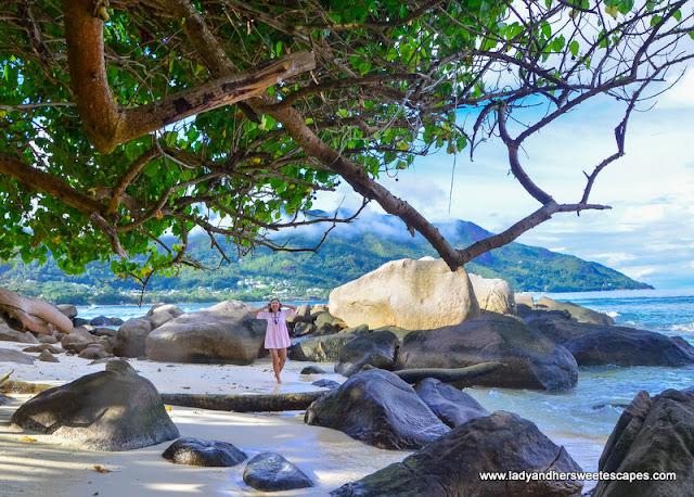 Beau Vallon in Mahe Seychelles