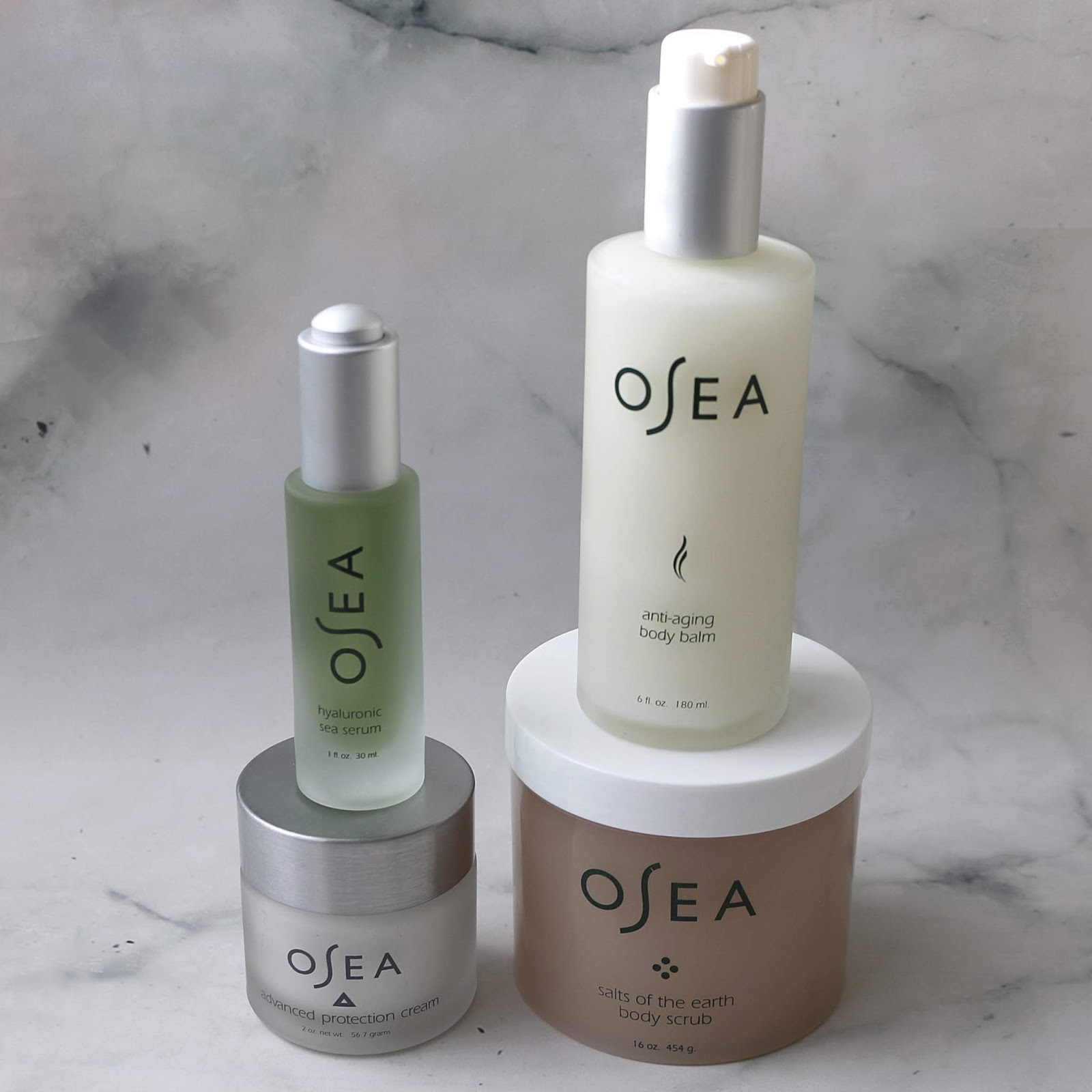 Osea Seaweed Face Body Care Natural Skincare Review