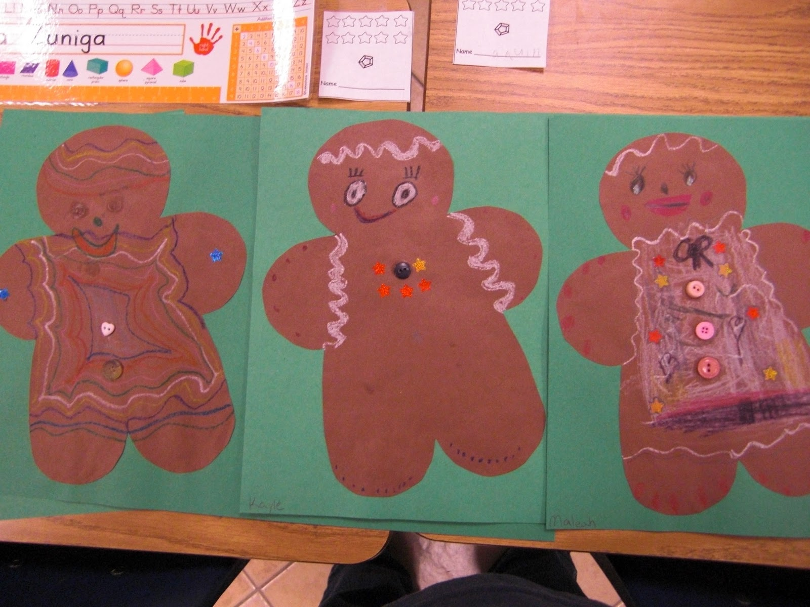 Christmas Art Projects For 1st Graders