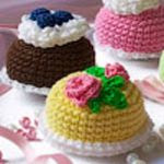 patron gratis pastel amigurumi
