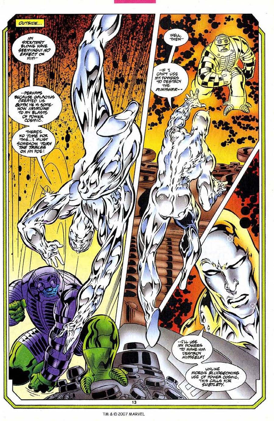 Silver Surfer (1987) Issue #109 #117 - English 15