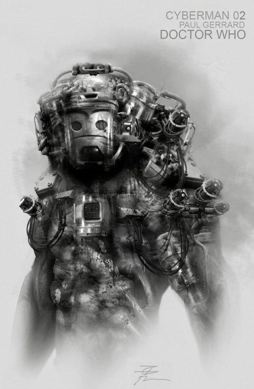 Paul Gerrard artstation arte conceitual ilustrações fantasia ficção científica sombrio filmes séries games