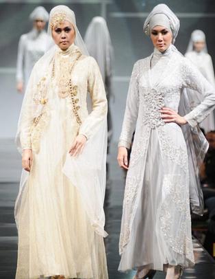 Contoh Desain Kebaya Muslimah untuk Pernikahan