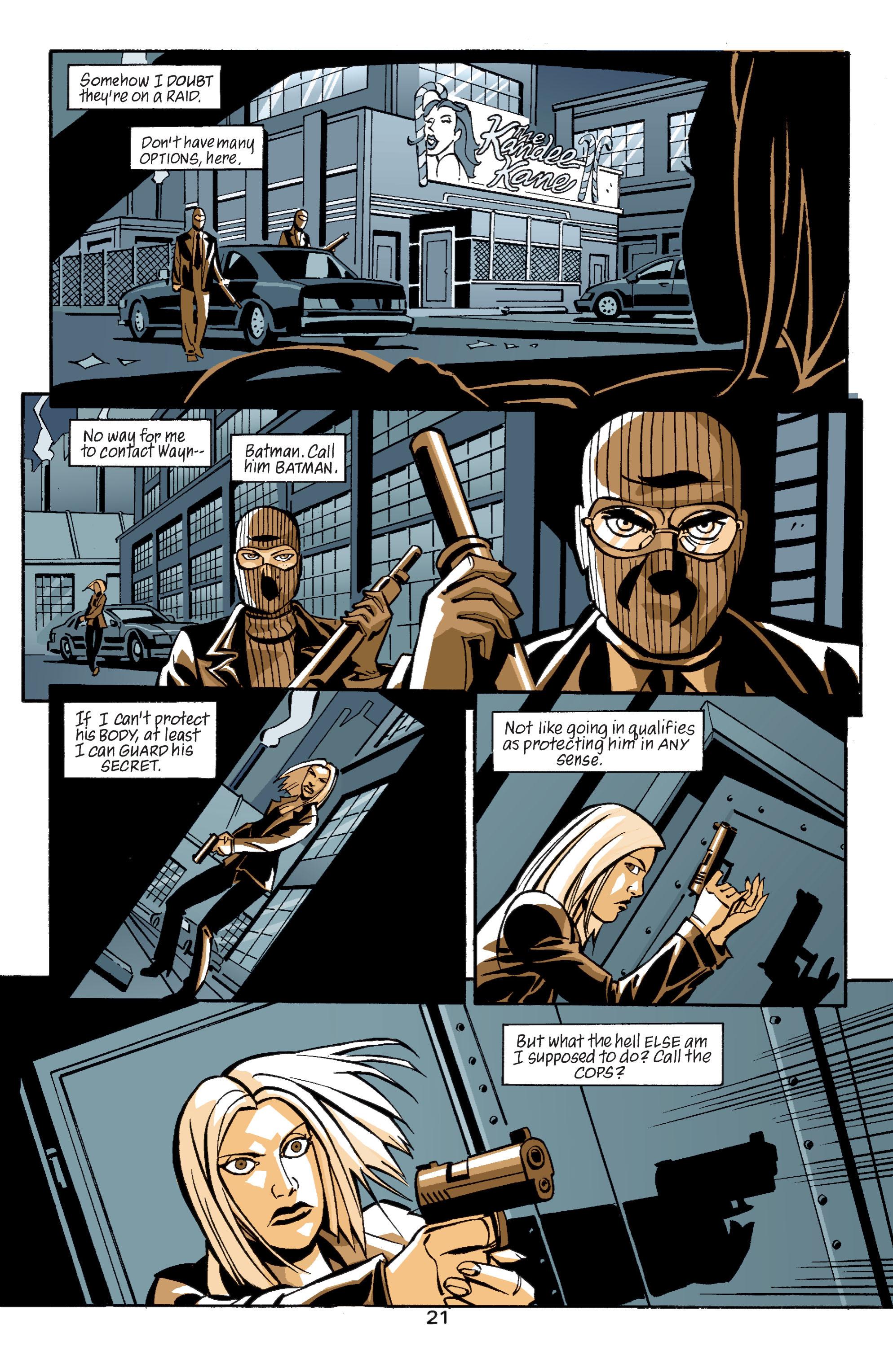 Detective Comics (1937) 758 Page 21