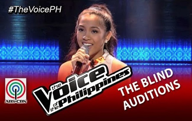 Video: Demie Fresco sings 'Ikaw' on The Voice of the Philippines Season 2 Blind Audition