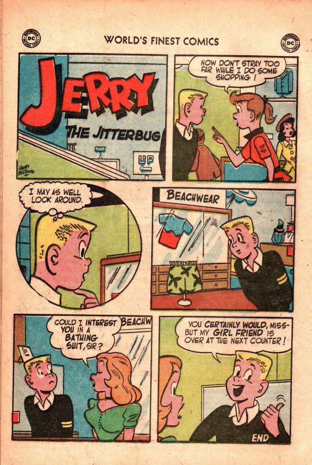 Read online World's Finest Comics comic -  Issue #71 - 26
