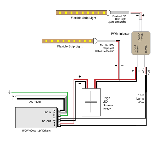 led dimmer switch wiring diagram sky hd box connections vlightdeco trading (led): diagrams for 12v lighting
