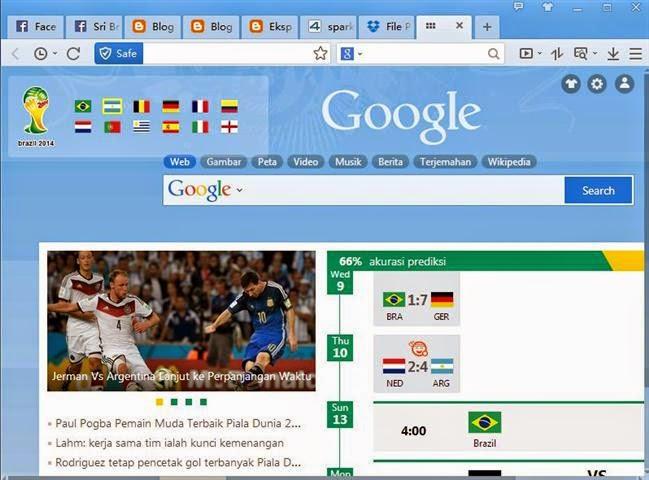 """""""Spark"""" Browser Internet Paling Ringan"""