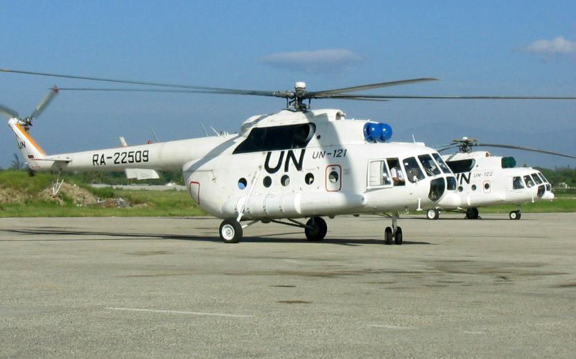 Llegan a Colombia helicópteros Mi-8 rusos para transportar a la misión de  la ONU 43f29ed0c85