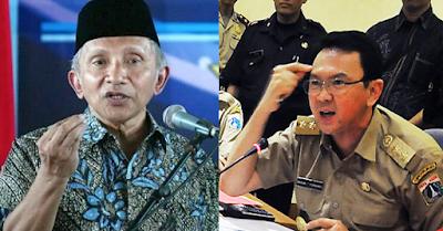 Amien Rais: Jika Ahok Bebas, Jokowi Finish! Umat Islam Sudah Habis Kesabarannya
