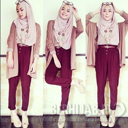 Outfit Hijab Simple