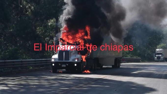 GALERÍA - Dos autos incendiados el saldo de vandalismos por parte del FNLS.