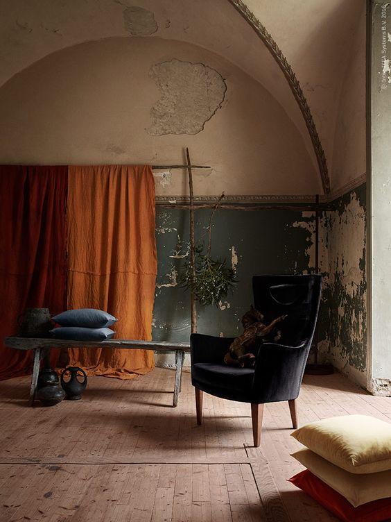 image result for ikea hack with stockholm armchair black velvet