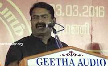 Seeman speech at election campaign at Kumanan Savadi, Kancheepuram