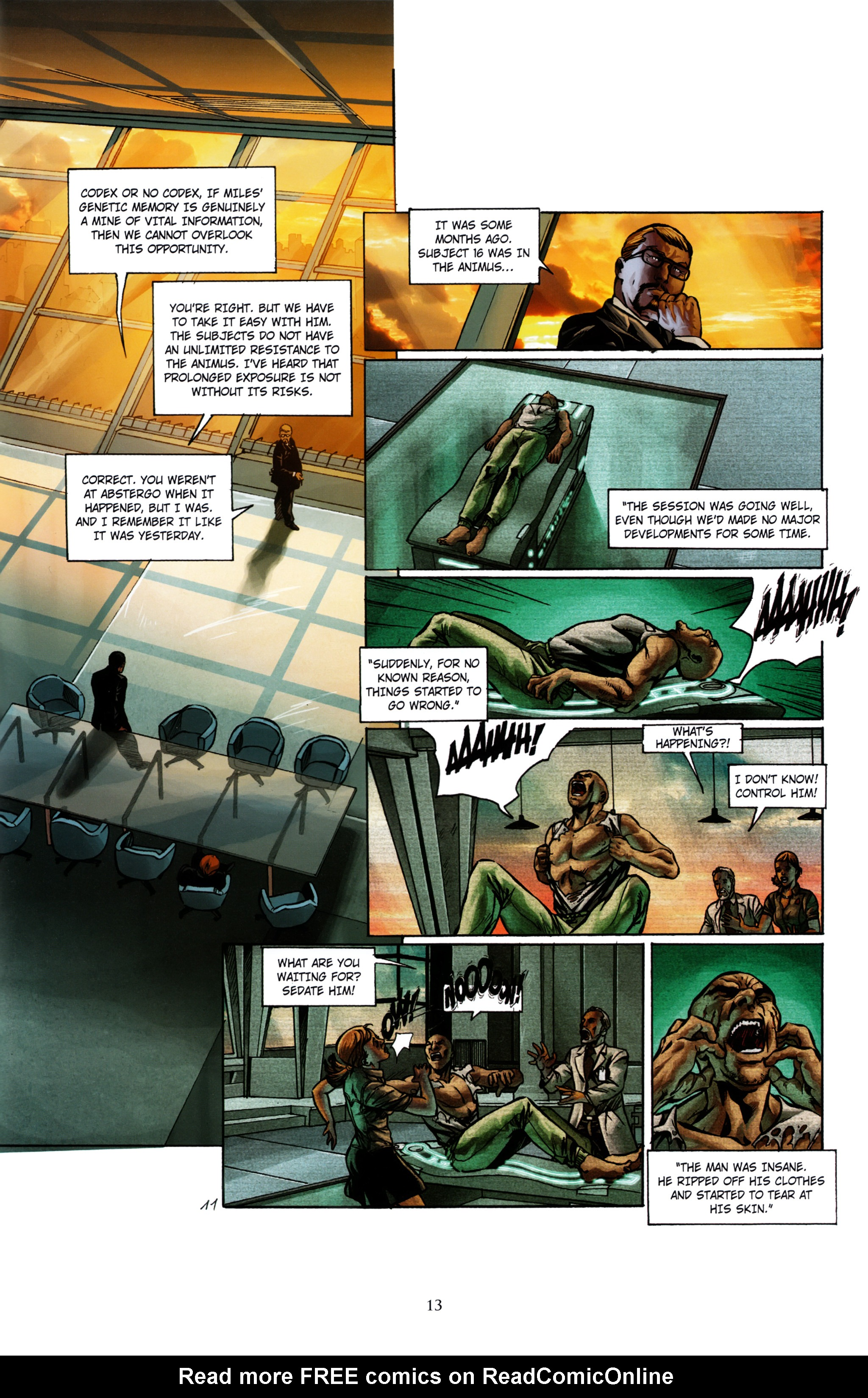 Read online Assassin's Creed (2012) comic -  Issue #1 - 17