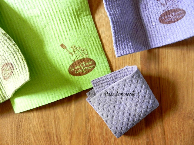|| Mes accessoires pour faire sa vaisselle à la main de façon (presque) zéro déchet : Lavettes
