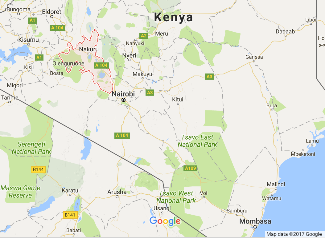 Kenya African Centre Of Excellence In Geothermal Energy To Be - Where is kenya located