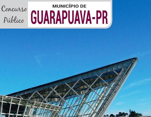 concurso Prefeitura de Guarapuava PR