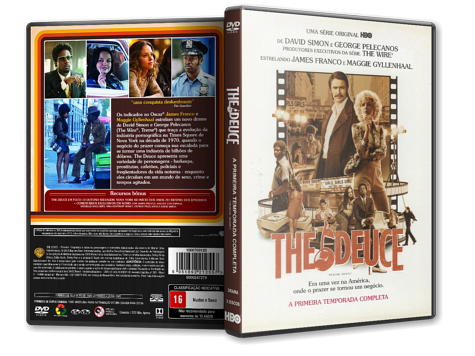 Capa DVD The Deuce - 1ª Temporada [Custom]