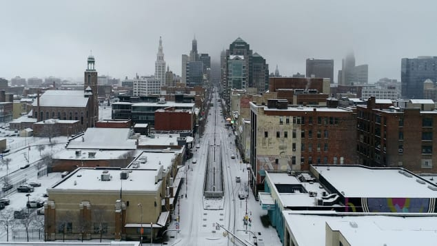 Buffalo, called The City of Good Neighbors or The Queen City, tends to be cold and gray during the winter, but the city never stops.