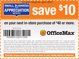 Office Max coupons for april 2017