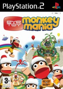 EyeToyMonkeyMania ps2 - Eye Toy - Monkey Mania PS2