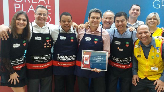 Sodimac Brasil está entre as Melhores Empresas para Trabalhar no Varejo