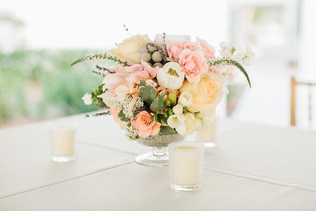 shabby+chic+wedding+spring+summer+pastel+champagne+pink+black+white+bride+groom+bouquet+ceremony+centerpiece+floral+flower+bridesmaid+dresses+dress+riverland+studios+25 - Charleston Pastel