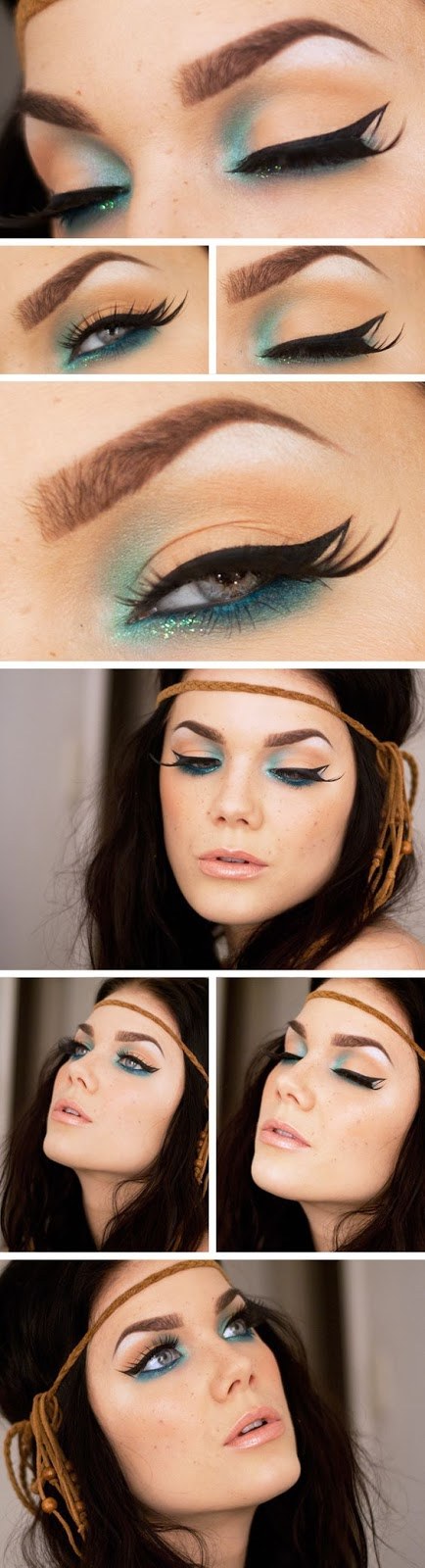 beautiful summer make up