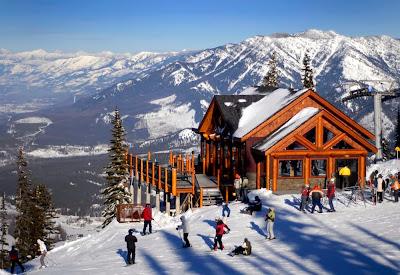 Estação de esqui de Fernie - Canadá