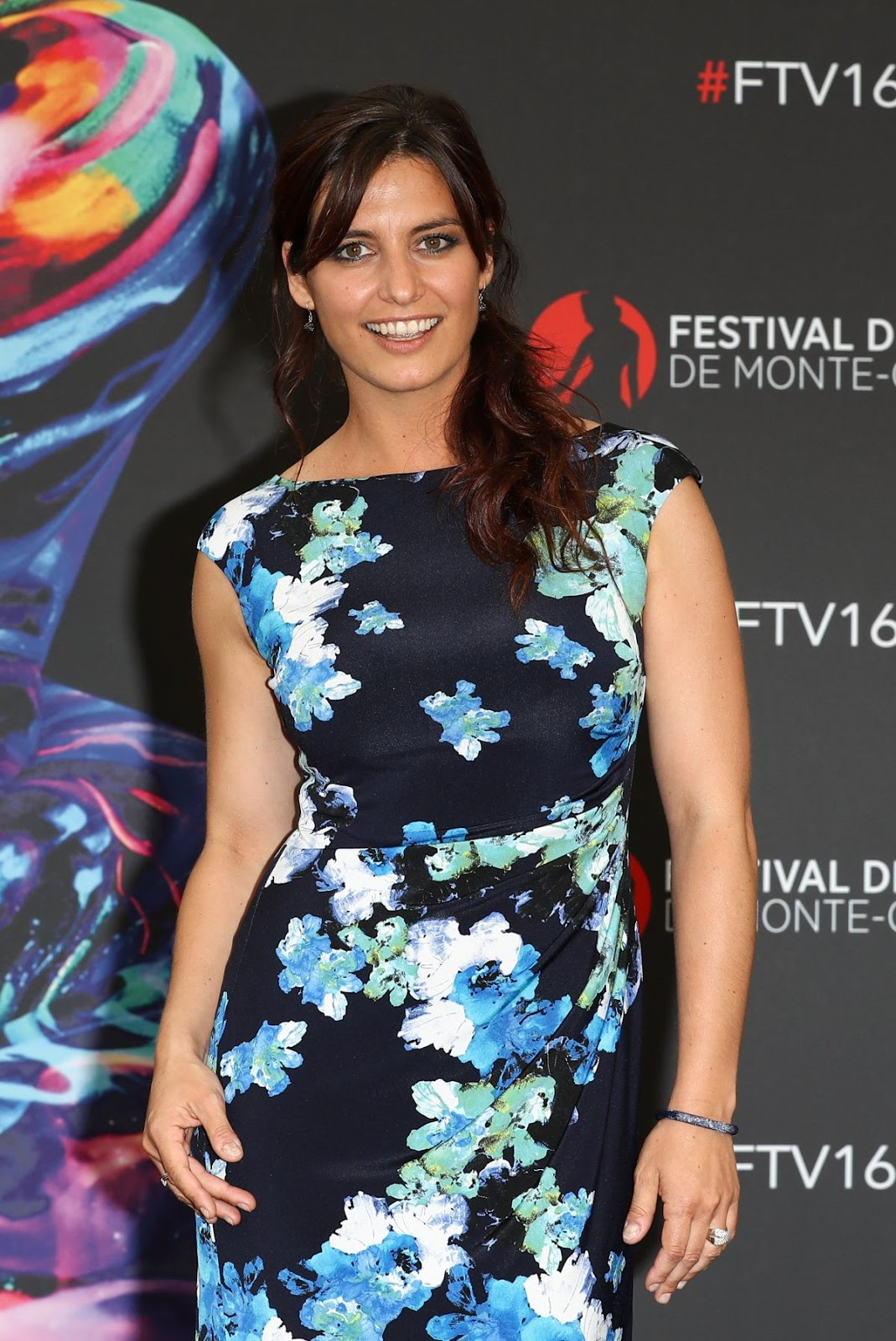 Laetitia Milot At La Vengeance Aux Yeux Clairs Photocall At 56tn Monte Carlo Television Festival