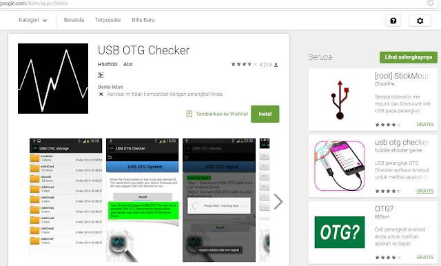 Cara mudah mengetahui HP support USB OTG,cara mengetahui ponsel support usb otg,cara cek ponsel mendukung usb otg,cara mengetahui smartphone mendukung usb otg
