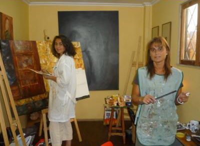 Como pintar un cuadro al leo - Como pintar al oleo paso a paso ...