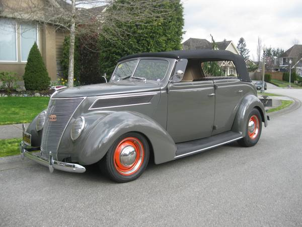 Nice Custom Build 1937 Ford Phaeton Streetrod