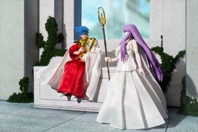 La Bandai ci offre Abel Sun God e Athena Goddess Memorial set