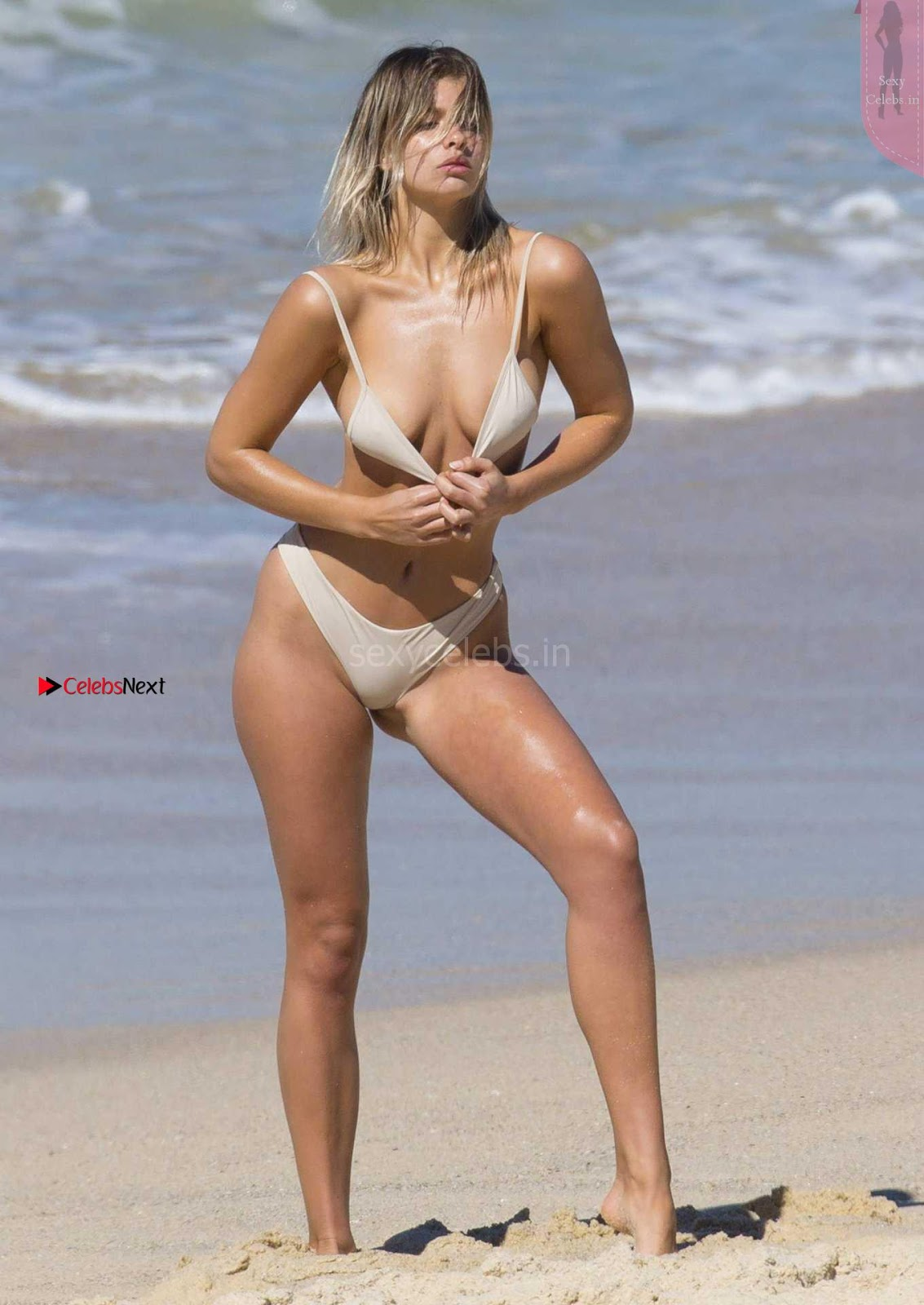 Kristina Mendonca Sexy tiny thongs Bikini Shoot WOW Sexy ass Beautiful Blond