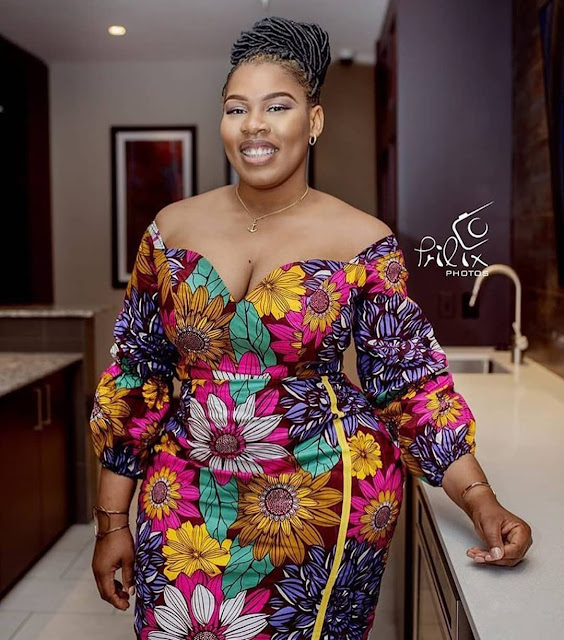 African Print Styles For Plus Size and Curvy Ladies