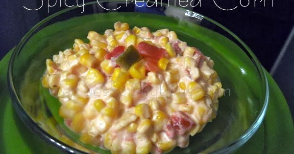 Recipes For My Boys: Spicy Creamed Corn