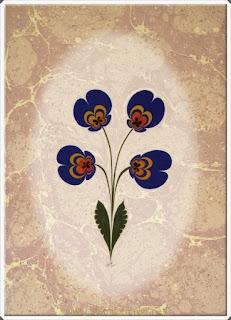 Elişi Ebru Sanatı Örnekleri 2