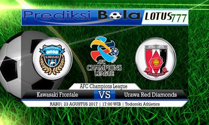 Prediksi Pertandingan antara Kawasaki Frontale vs Urawa Red Diamonds 23 AGUSTUS 2017