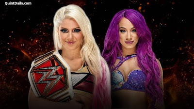Alexa Bliss vs Sasha Banks : WWE Great Balls of Fire 2017 Results