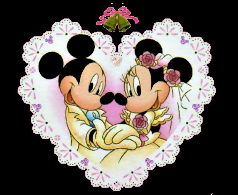 Minnie And Mickey Wedding Free Printables.