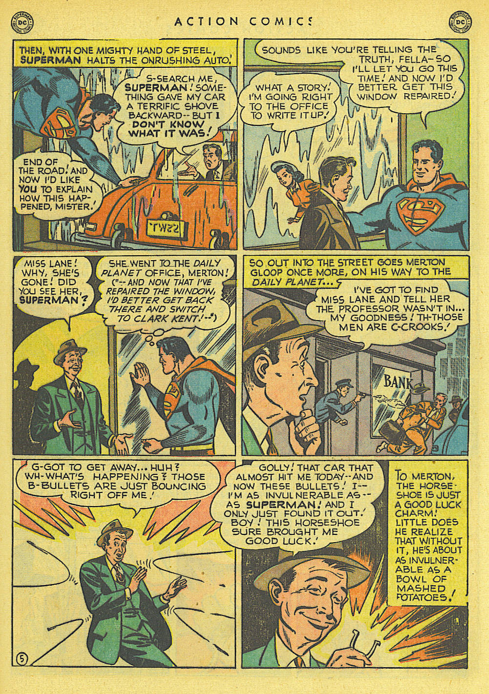 Read online Action Comics (1938) comic -  Issue #145 - 6