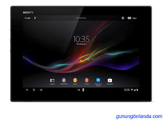 Cara Flashing Sony Xperia Tablet Z WiFi SGP311