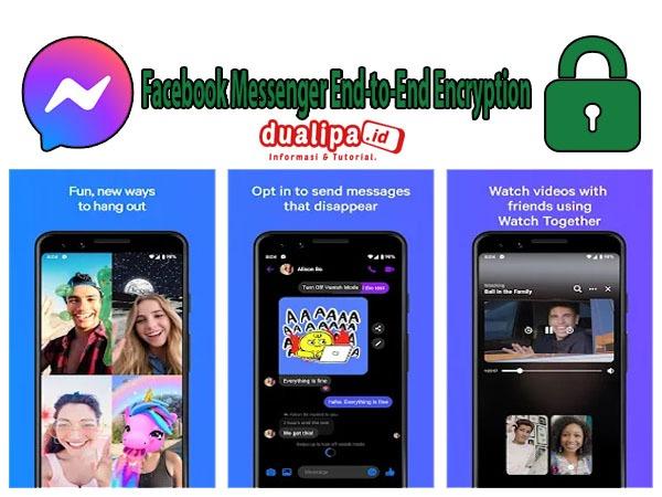 Facebook Messenger Enkripsi End-to-End Panggilan Video dan Audio